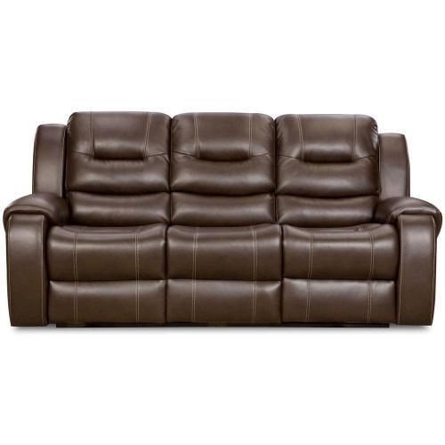 Cambridge Clark Double Reclining Sofa in Umber, 98503DRS-UM