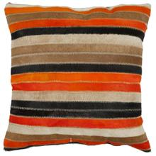 Quinn Pillow - Orange / Tan