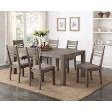 Cambridge 6 Piece Dining Set, Gray Brown 1126-dining-ladder-5pc-k