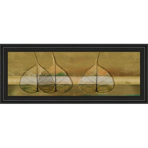 """Classy Art - """"Less Is More IV"""" By Patricia Pinto Framed Print Wall Art"""