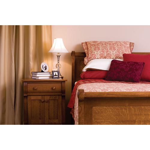 Empire Sleigh Bed, California King