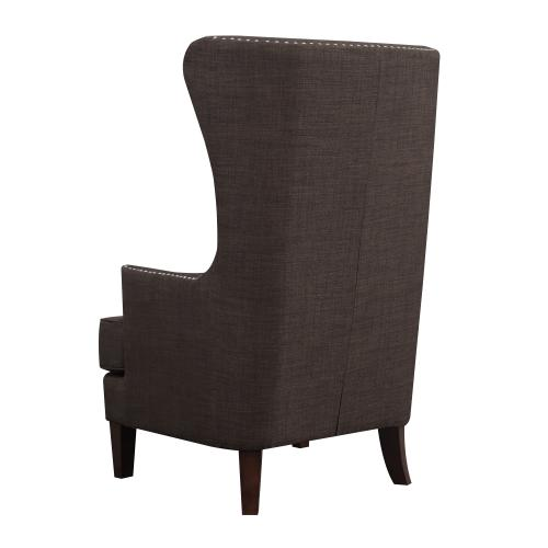 Kori Accent Chair in Chocolate