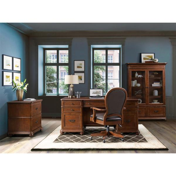 Clinton Hill - Executive Desk - Classic Cherry Finish