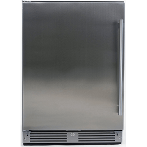 "XO APPLIANCEOutdoor Refrigerator 24"" Solid SS LH"
