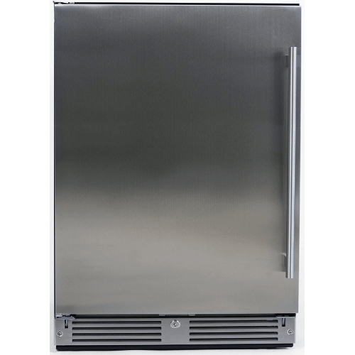 24in Outdoor Refrigerator Solid SS LH