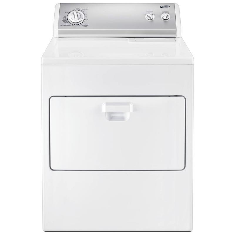 View Product - Crosley Hamper Door Dryer Electric/gas Dryer - Electric Dryer - White