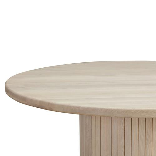Chelsea Round Oak Dining Table