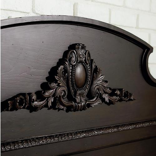 Chatsworth Cal King Panel Bed, Footboard Low