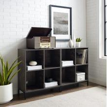 See Details - Jacobsen 2pc Record Storage Cube Bookcase Set