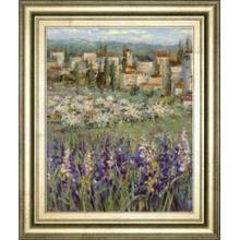 """Provencal Village I"" By Longo Framed Print Wall Art"
