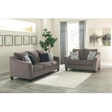 Nemoli Sofa and Loveseat Slate