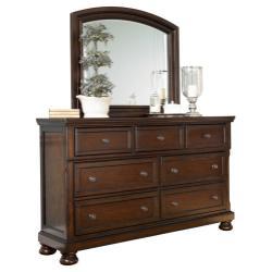 Porter Dresser and Mirror