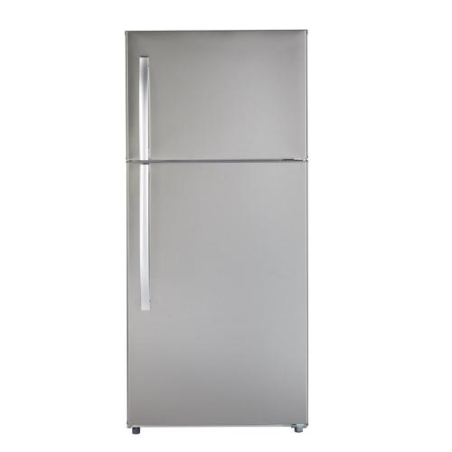 MTS18GSHRSS - Stainless Steel Moffat 18 Cu. Ft. Top-Freezer No-Frost Refrigerator