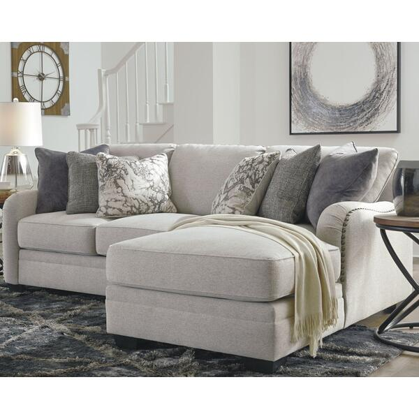See Details - Dellara 2-piece Sectional With Chaise