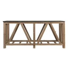 Blue Stone Console Table