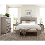 Cascade - Upholstered Bed Bench - Dovetail Finish