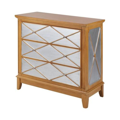Stein World - Buccino Transitional Chest In Silver and Brown