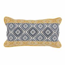 See Details - Florence Sunflower Navy Pillow