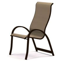 Aruba Sling Supreme Stacking Arm Chair