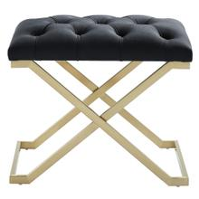 Rada Bench in Black/Gold