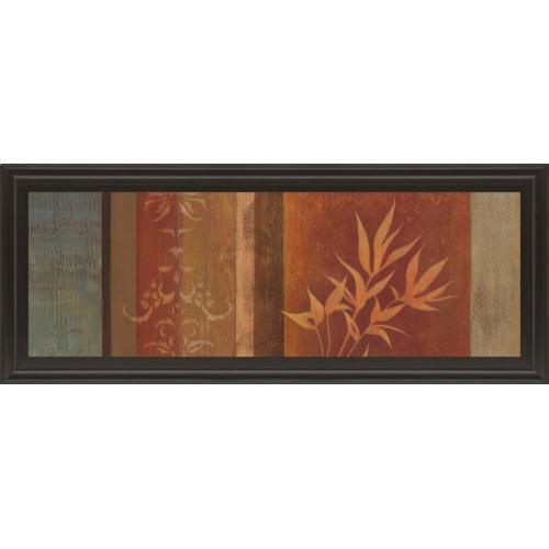 """""""Leaf Silhouette Il"""" By Jordan Grey Framed Print Wall Art"""