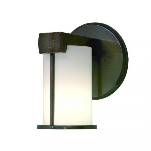 Post-Ring Sconce - WS405 White Bronze Dark