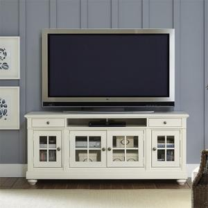 """LIBERTY FURNITURE INDUSTRIES74"""" Entertainment TV Stand"""