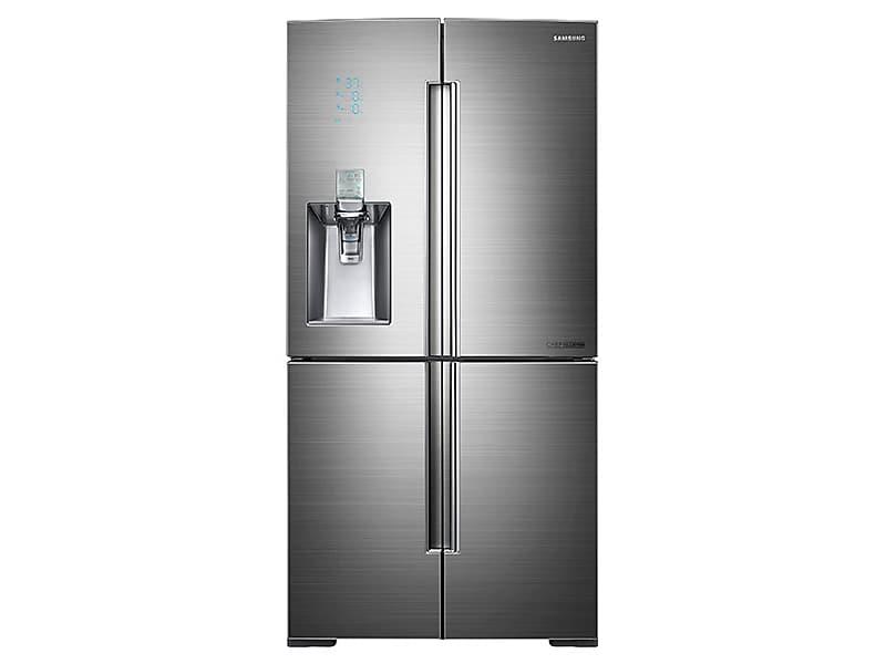 Samsung34 Cu. Ft. 4-Door Flex™ Chef Collection Refrigerator With Sparkling Water Dispenser In Stainless Steel