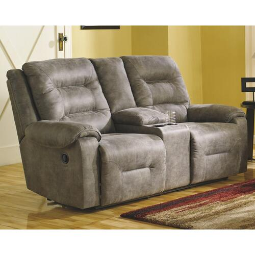 Signature Design By Ashley - Rotation Reclining Loveseat With Console