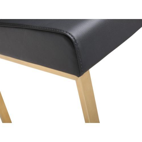 Tov Furniture - Denmark Black Gold Steel Counter Stool (Set of 2)