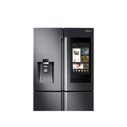 28 cu. ft. Family Hub™ 4-Door Flex™ Refrigerator in Black Stainless Steel