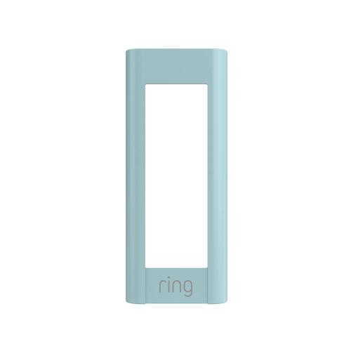 Ring - Interchangeable Faceplate (for Video Doorbell Pro) - Ice Blue