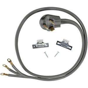 Petra3-Wire Eyelet 30-Amp Dryer Cord, 6ft