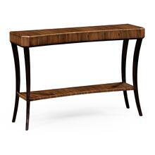 Art Deco Satin Console Table