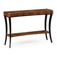 Art Deco Satin Console Table