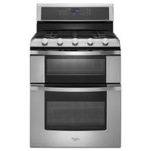 View Product - 6.0 Total cu. ft. Double Oven Gas Range with Convection Cooking