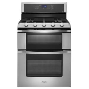 6.0 Total cu. ft. Double Oven Gas Range with Convection Cooking Product Image