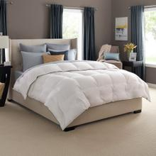 See Details - Luxury White Goose Down Comforter Queen