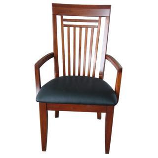 See Details - Hampton Arm Chair w/Vinyl Seat