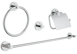Essentials Master bathroom accessories set 4-in-1 Product Image