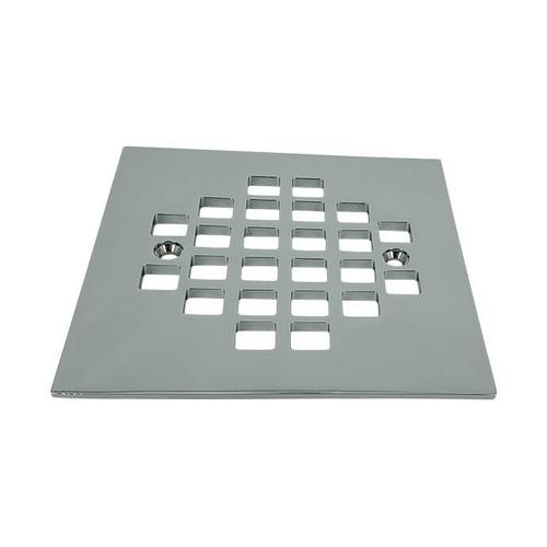 """Mountain Plumbing - 4-1/4"""" Square Solid Brass Shower Grid - Oil Rubbed Bronze"""