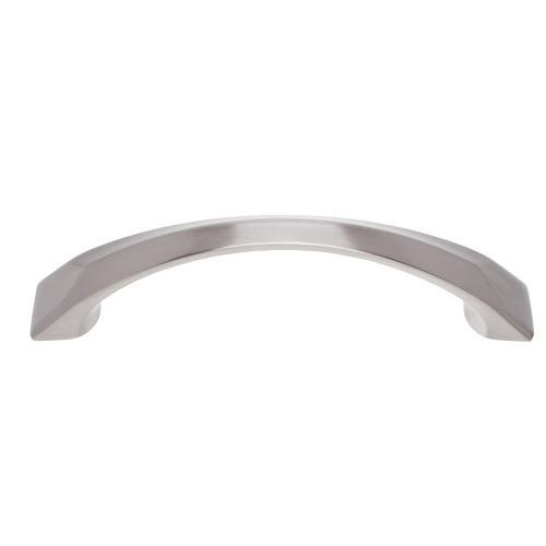 Satin Nickel 96 mm c/c Bowed Pull