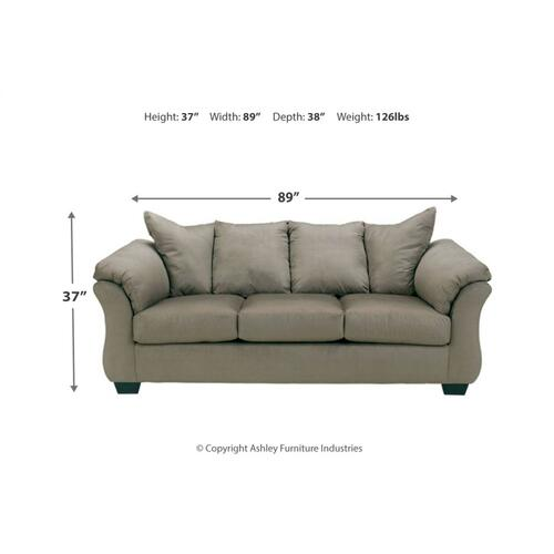 Darcy Sofa & Loveseat Cobblestone