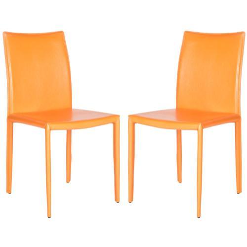 Karna 19''h Dining Chair - Orange