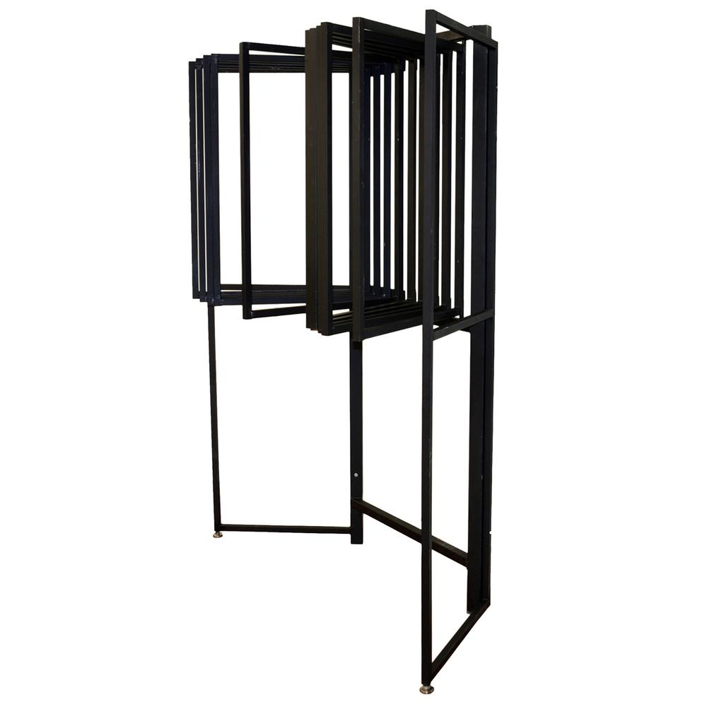 See Details - Ten Arm 2x3 Panel Rack w/96 Clips