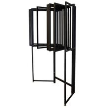 View Product - Ten Arm 2x3 Panel Rack w/96 Clips