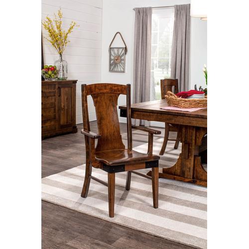 Montauk Arm Chair, Fabric Seat