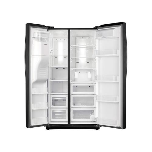 Samsung - 24.5 cu. ft. Side-By-Side Refrigerator with In-Door Ice Maker