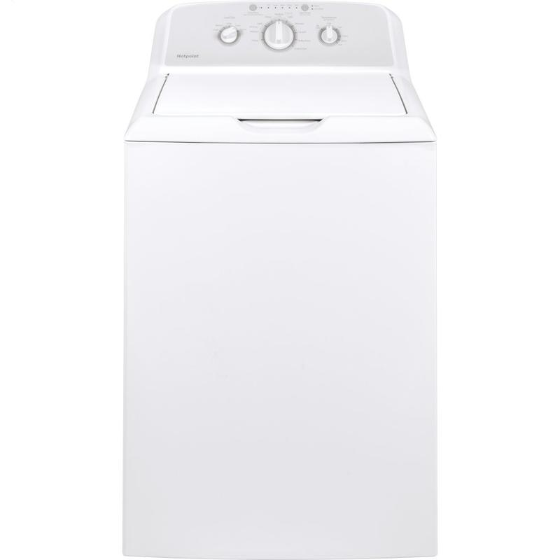 View Product - Hotpoint® 3.8 cu. ft. Capacity Washer with Stainless Steel Basket