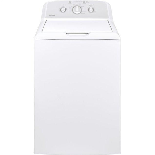Hotpoint Hotpoint® 3.8 cu. ft. Capacity Washer with Stainless Steel Basket